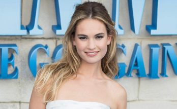 How Tall is Lily James Height Weight Body Measurements